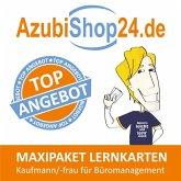 AzubiShop24.de Lernkarten Kaufmann / Kauffrau für Büromanagement. Maxi-Paket
