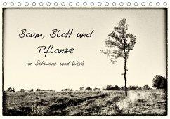 Baum, Blatt und Pflanze in Schwarz und Weiß (Tischkalender 2018 DIN ...