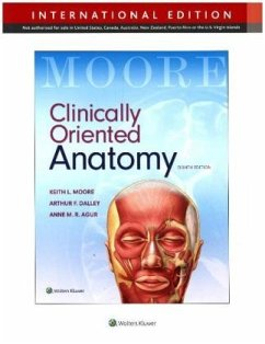 Clinically Oriented Anatomy, International Edition - Moore, Keith L.; Dalley Arthur F.; Agur, Anne M. R.