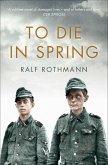 To Die in Spring (eBook, ePUB)