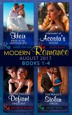 Modern Romance Collection: August 2017 Books 1 - 4: An Heir Made in the Marriage Bed / The Prince's Stolen Virgin / Protecting His Defiant Innocent / Pregnant at Acosta's Demand (eBook, ePUB)