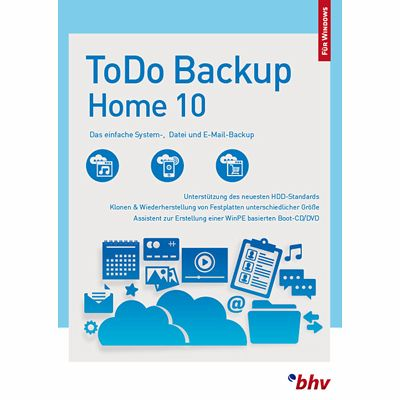 EaseUS ToDo Backup Home 10 (Download für Windows)