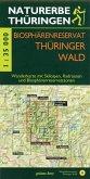 Wanderkarte Biosphärenreservat Thüringer Wald