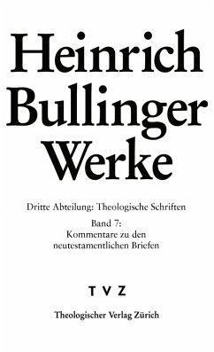 Bullinger, Heinrich: Werke (eBook, PDF) - Bullinger, Heinrich