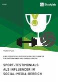 Sport-Testimonials als Influencer im Social-Media-Bereich