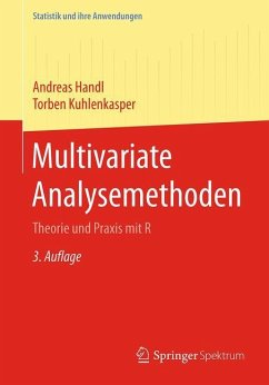 Multivariate Analysemethoden - Handl, Andreas; Kuhlenkasper, Torben