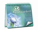 Achtsamkeit Wochenkalender 2018