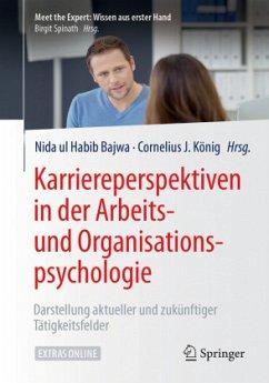 Karriereperspektiven in der Arbeits- und Organi...