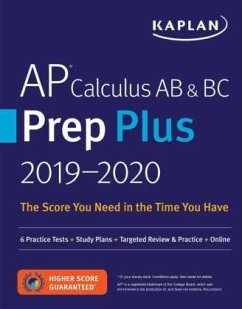 AP Calculus AB & BC Prep Plus 2019-2020: 6 Prac...