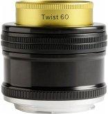 Lensbaby Twist 60 Nikon F Objektiv für Nikon (46 mm Filtergewinde, Vollformat Sensor)