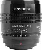 Lensbaby Velvet 56 Objektiv für Micro FourThirds (62 mm Filtergewinde, Vollformat / APS-C Sensor)