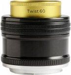 Lensbaby Twist 60 Canon EF Objektiv für Canon (46 mm Filtergewinde, Vollformat Sensor)