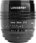 Lensbaby Velvet 56 Objektiv für Sony E-Mount (62 mm Filtergewinde, Vollformat / APS-C Sensor)