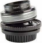 Lensbaby Composer Pro II PL incl. Sweet 35 Optic Objektiv für PL-Mount (46 mm Filtergewinde, Vollformat / APS-C Sensor)