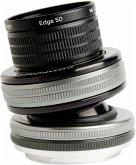 Lensbaby Composer Pro II incl. Edge 50 Optic Nikon F Objektiv für Nikon (46 mm Filtergewinde, Vollformat / APS-C Sensor)