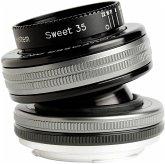 Lensbaby Composer Pro II incl. Sweet 35 Optic Nikon F Objektiv für Nikon (46 mm Filtergewinde, Vollformat / APS-C Sensor)