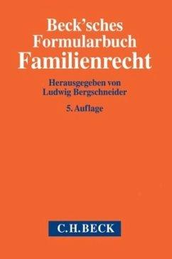 Beck'sches Formularbuch Familienrecht