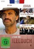 4 Filme von Claude Lelouche 4 (4 Discs)