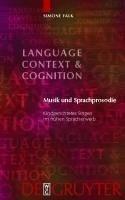 Musik und Sprachprosodie (eBook, PDF) - Falk, Simone