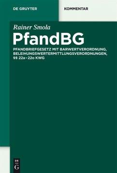 PfandBG (eBook, PDF) - Smola, Rainer