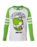 Nintendo langarm Shirt (Kinder) -110/116- Yoshi
