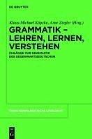 Grammatik - Lehren, Lernen, Verstehen (eBook, PDF)