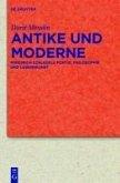 Antike und Moderne (eBook, PDF)
