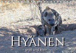 Hyänen - groß und klein (Tischkalender 2018 DIN A5 quer)