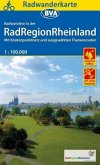 Radwanderkarte BVA Radwandern in der RadRegionRheinland