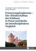 Erinnerungsimplantate - Der (Wieder-)Aufbau der Schlösser in Posen und Berlin im interdisziplinären Vergleich