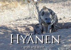 Hyänen - groß und klein (Wandkalender 2018 DIN A3 quer)