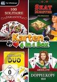 Karten - 4in1 Box (4 hochwertige Kartenspiele in einer Box!)