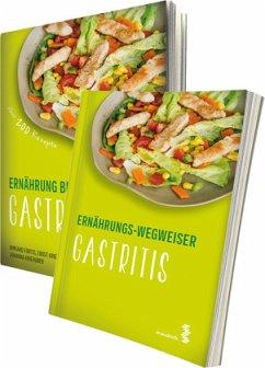 Paket Ernährung bei Gastritis und Ernährungs-Wegweiser Gastritis - Fortis, Irmgard; Kriehuber, Ernst; Kriehuber, Johanna