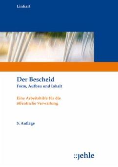 Der Bescheid - Linhart, Helmut