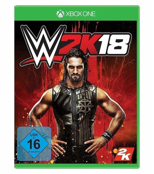 wwe 2k18 xbox one games versandkostenfrei bei b. Black Bedroom Furniture Sets. Home Design Ideas