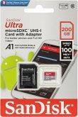 SanDisk Ultra microSDXC A1 200GB 100MB/s.Adapt.SDSQUAR-200G-GN6MA