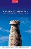 Return to Meaning (eBook, ePUB)