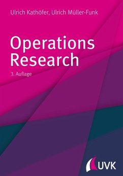 Operations Research (eBook, PDF) - Müller-Funk, Ulrich; Kathöfer, Ulrich