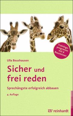 Sicher und frei reden - Beushausen, Ulla