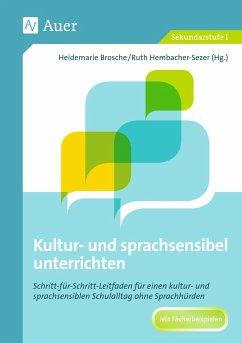 Sprachsensibel unterrichten - Brosche, Heidemarie;Hembacher-Sezer, Ruth