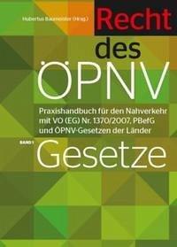 Handbuch Recht des ÖPNV