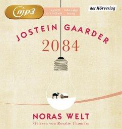 2084, Noras Welt, 1 MP3-CD (Mängelexemplar) - Gaarder, Jostein