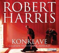 Konklave, 6 Audio-CDs (Mängelexemplar) - Harris, Robert