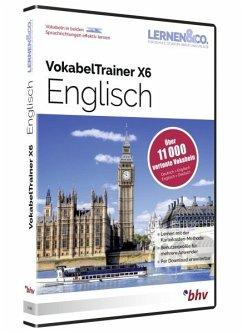 Vokabeltrainer x6 englisch software portofrei bei b for Vokabeltrainer englisch