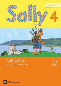 Sally - Ausgabe Nordrhein-Westfalen 4. Schuljahr - Activity Book