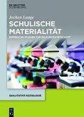 Schulische Materialität (eBook, PDF)
