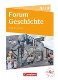 Forum Geschichte - Neue Ausgabe. Schülerbuch 9./10. Schuljahr. Berlin/Brandenburg