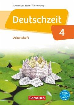 Deutschzeit Band 4: 8. Schuljahr - Baden-Württemberg - Arbeitsheft mit Lösungen