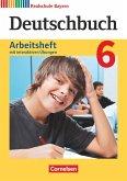 Deutschbuch 6. Jahrgangsstufe - Realschule Bayern - Arbeitsheft mit interaktiven Übungen auf scook.de
