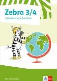 Zebra Sachunterricht 3/4. Lehrerband mit Kopiervorlagen und CD-ROM